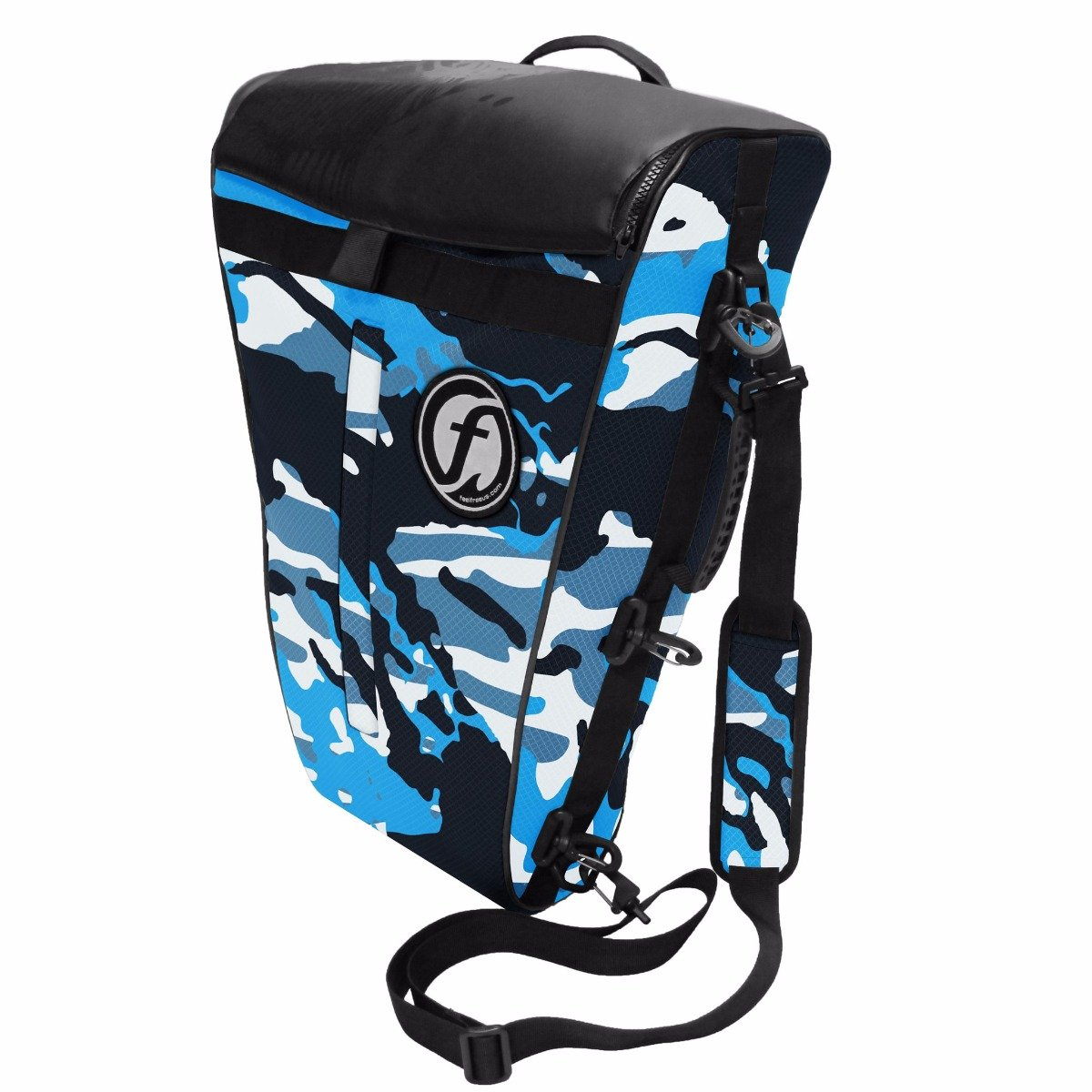 FeelFree Fish Bag Medium Blue Camo by Feel Free