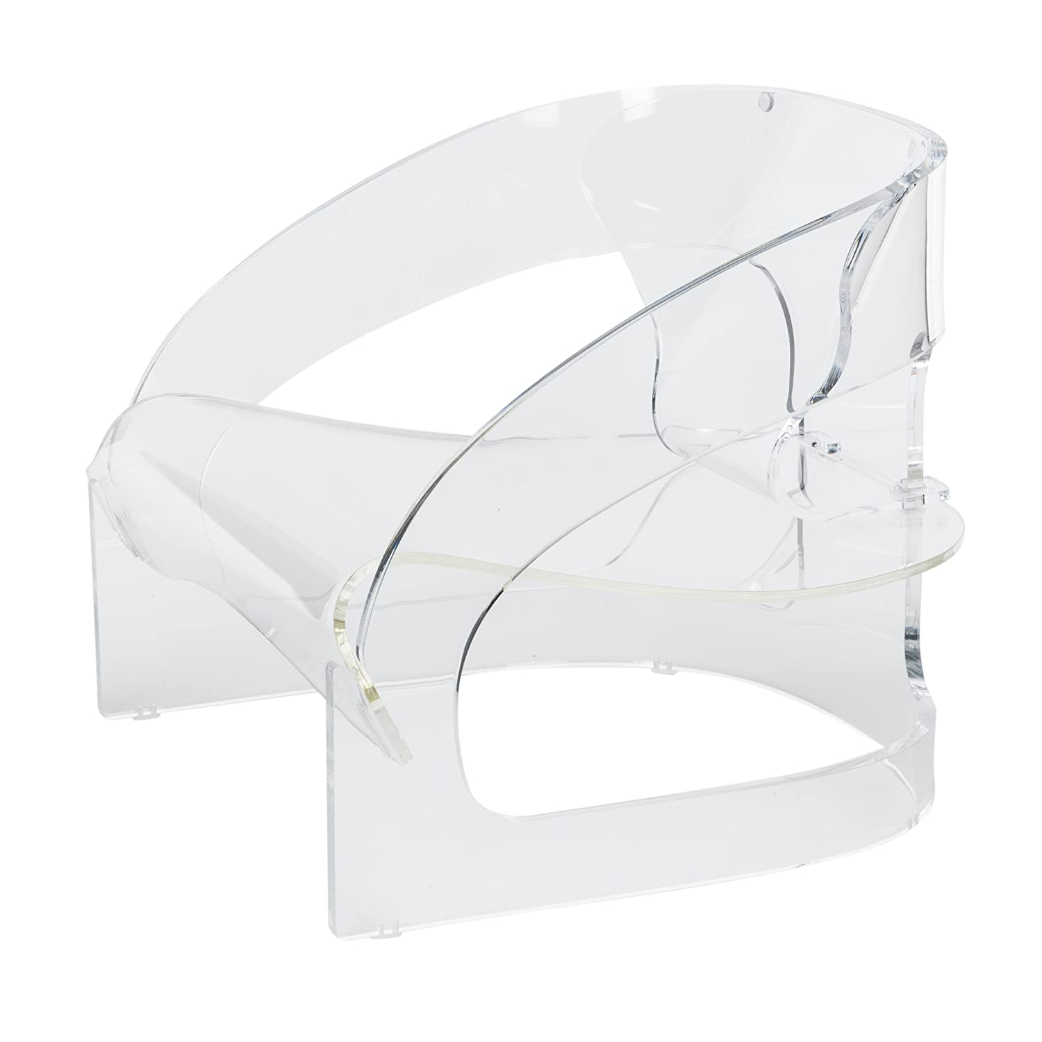 Kartell 4801 Sessel, transparent