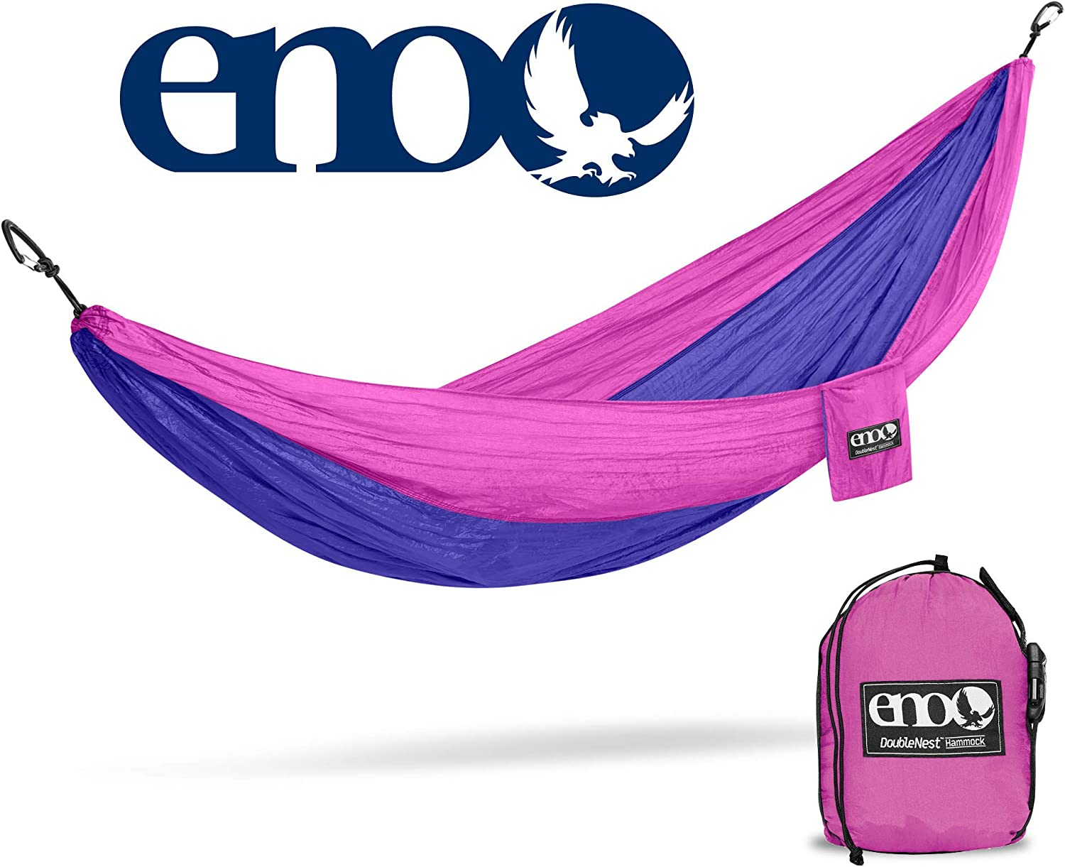 Eagles Nest Outfitters DoubleNest Lightweight Camping Hammock ENO 1 to 2 Person