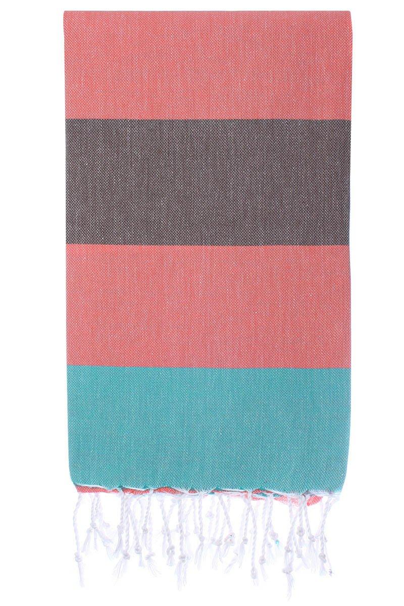 Cacala Toalla de baño Turco, Modelo Paradise, algodón, Coral Breeze, 95 x 175 x 0.5 cm: Amazon.es: Hogar