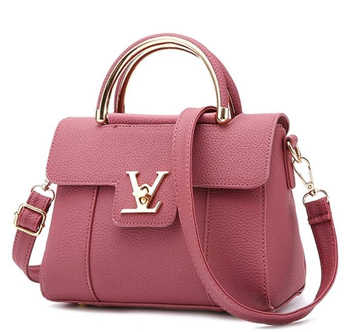 0a3759dc37c111 Amazon.com: Fake Designer Bags V Women's Luxury Leather Clutch Bag Ladies  Handbags Brand Women Messenger Bags Sac A Main Femme Handle 2: Luggage  combination ...