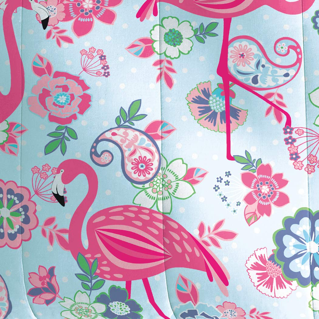 Dream Factory Flamingo Comforter Set, Pink, Twin by Dream Factory (Image #2)