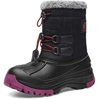 Kids Snow BootsBoys & GirlsWinterBoots Waterproof Cold Weather Outdoor Boots (Toddler/Little Kid/Big Kid)