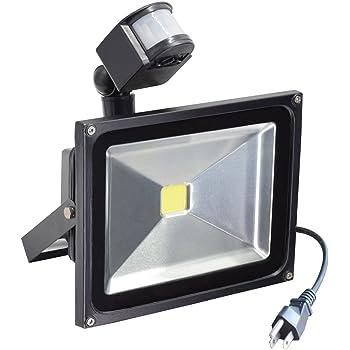 Motion Sensor Led Flood Light 760 Lumens Daylight White