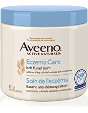 Aveeno Lotions Eczema Care Anti-Itch Balm, Eczema Treatment Cream With Colloidal Oatmeal, 311g