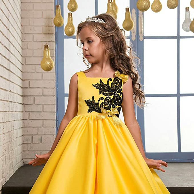 Amazon.com: Baihui Formal Dress Girls Birthday Party Wedding Dress Princess Dress Cosplay Costume: Clothing