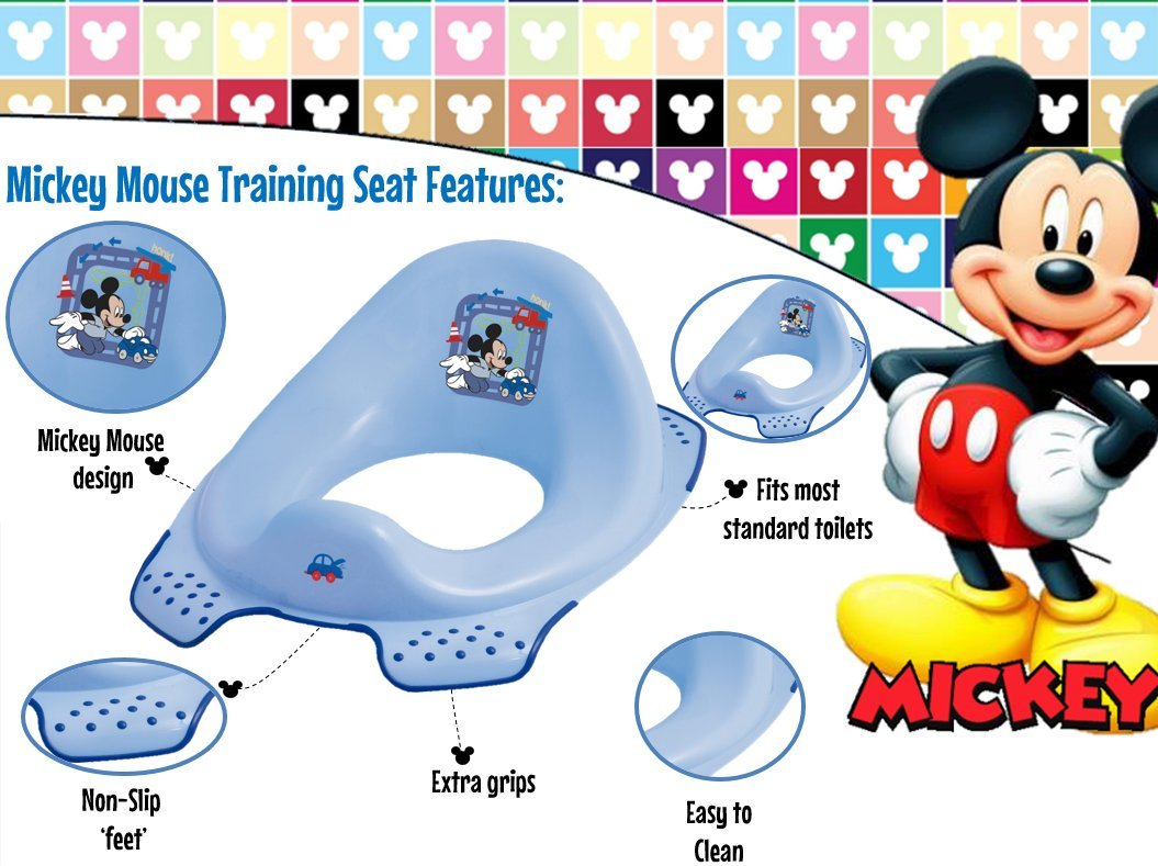 Disney Baby Mickey Mouse Toilet Training Seat Solution EU Ltd 82638