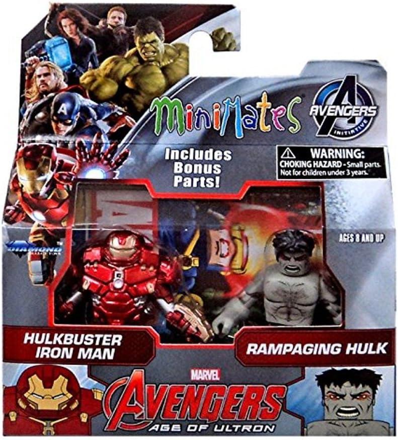 Diamond Select Marvel Avengers Serie 63 Stormbreaker Pack 2 figuras: Hulkbuster & Hulk: Amazon.es: Juguetes y juegos