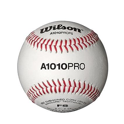 Amazon.com: Wilson A1010 Pro Flat seem Béisbol (1 Docena ...