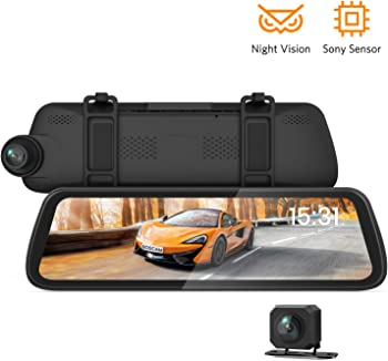 Boscam Sony IMX Sensor Dual Mirror Dash Cam