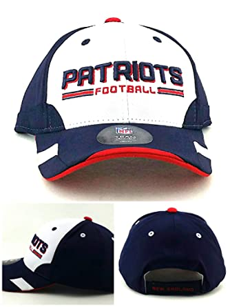 Image Unavailable. Image not available for. Color  New England Patriots New  NFL Proline Youth Kids Blue White Red Tech Era Hat Cap d6a095fd3343