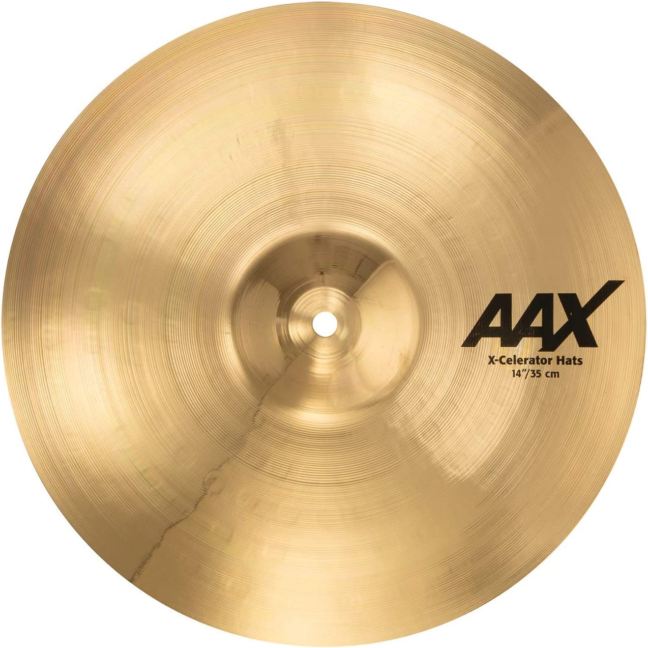 "Sabian 21402Xlb Aax 14"" X-Celerator Hi-Hats, Brilliant Finish"