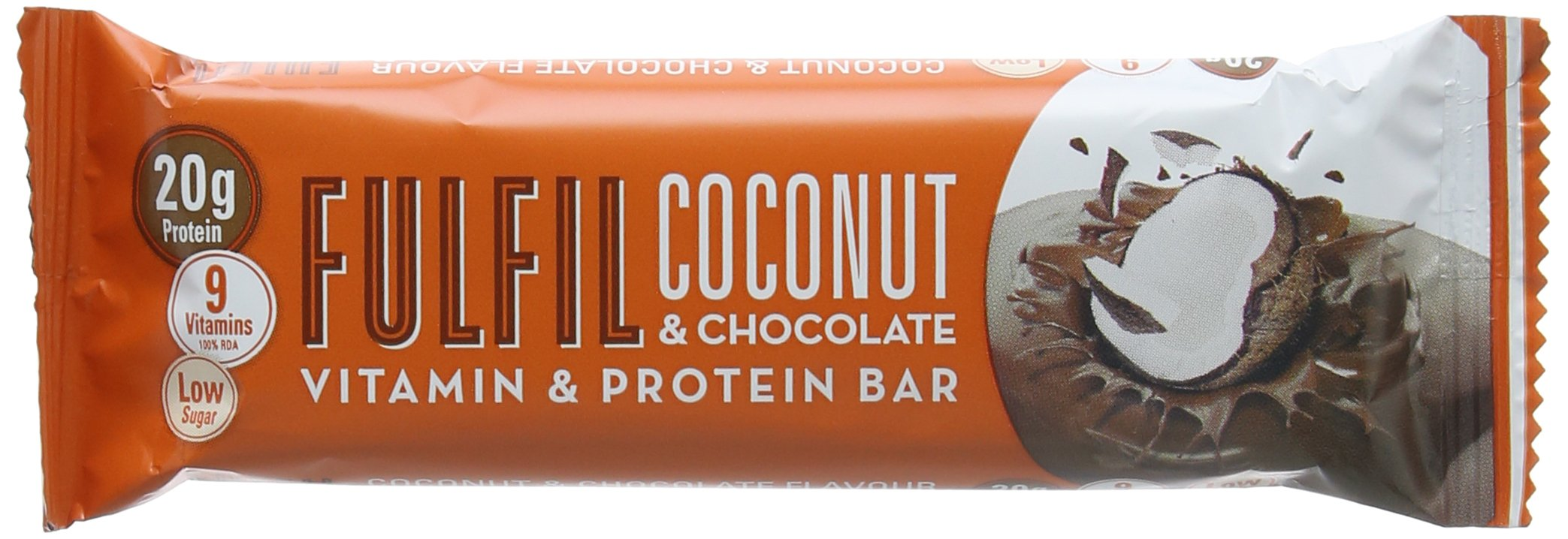 Fulfil Coconut and Chocolate Vitamin and Protein Bar - Pack of 15 product image