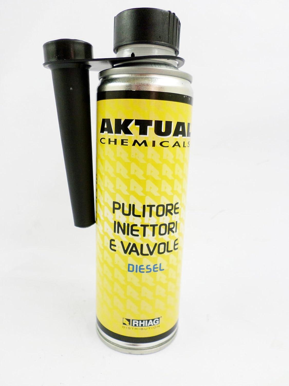 Aktual - Pulitore iniettori e valvole per motori diesel