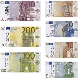 Spielgeld 120 Verschiedene Euro Scheine In 5 10 20 50