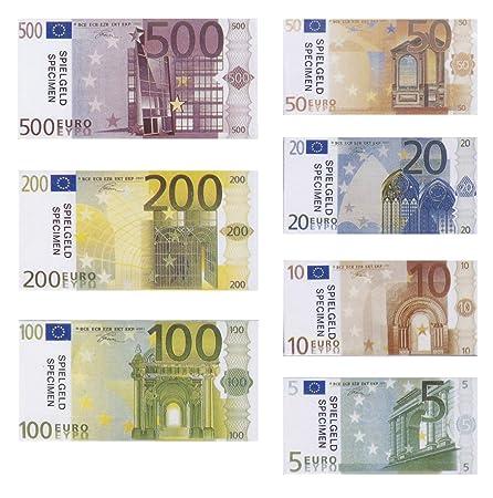 Philumo Spielgeld Euro Münzen Und Scheine Amazonde Spielzeug