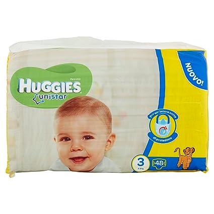 Huggies - Unistar - Pañales - Talla 3 (4-9 kg) - 2