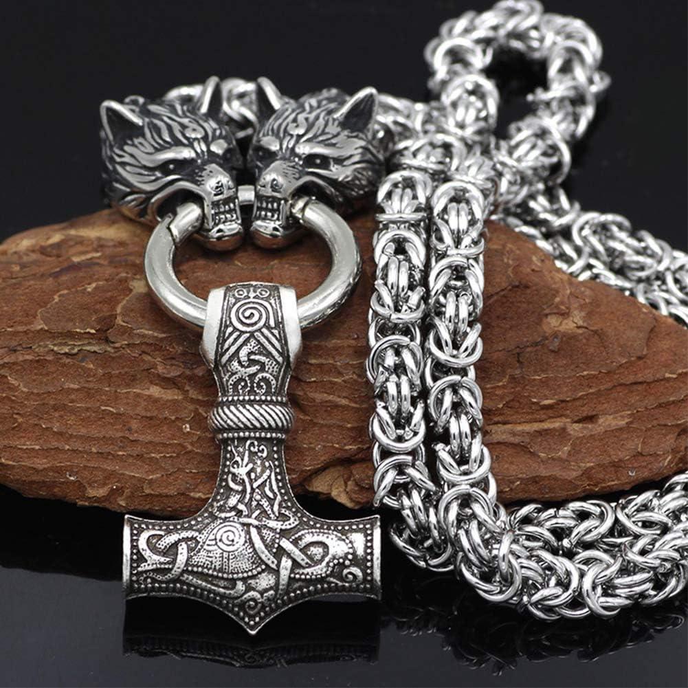 Anhänger Schwarze Sonne incl Kette Kette Odin Mjolnir Thor Amulet Nordic V5