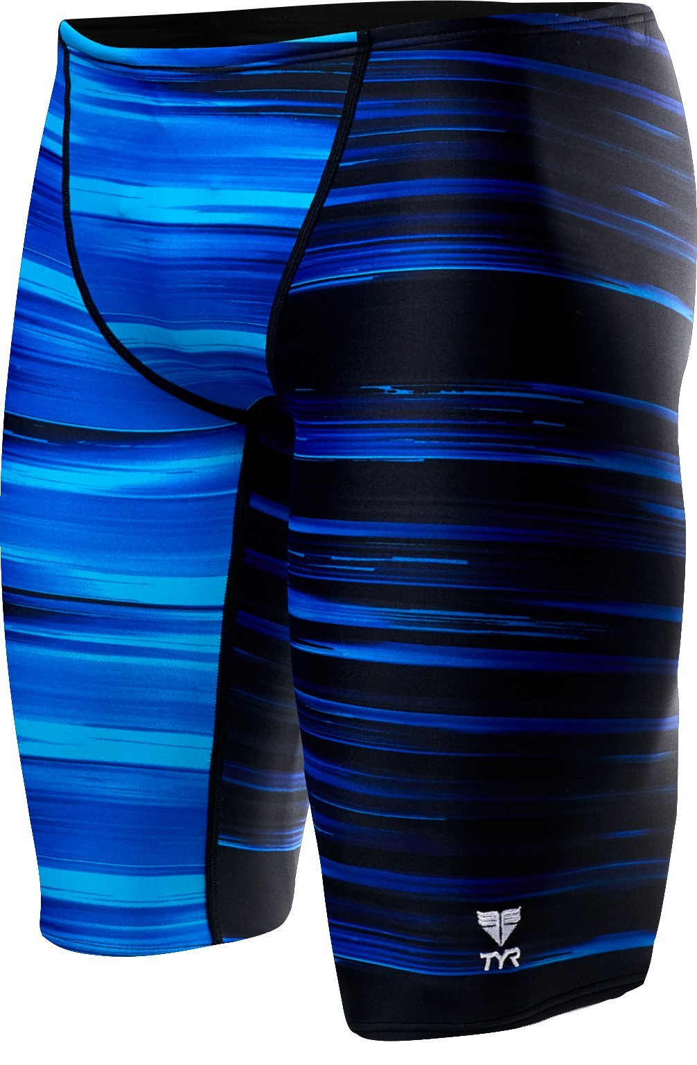 0aaa97a6e9e TYR Men's Lm Jammer Swimsuit, Blue, 32