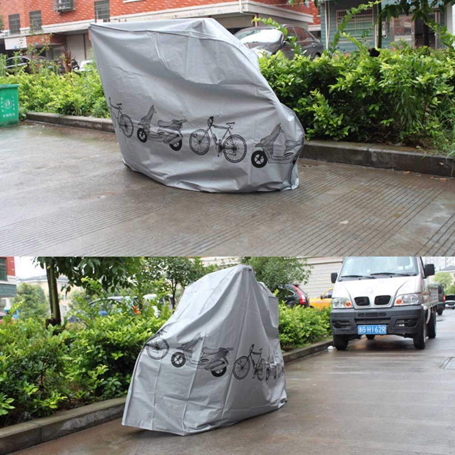 Mordely Waterproof Bicycle Cover Road Racing Mountain Bikes Storage Outdoor Protector JingLing