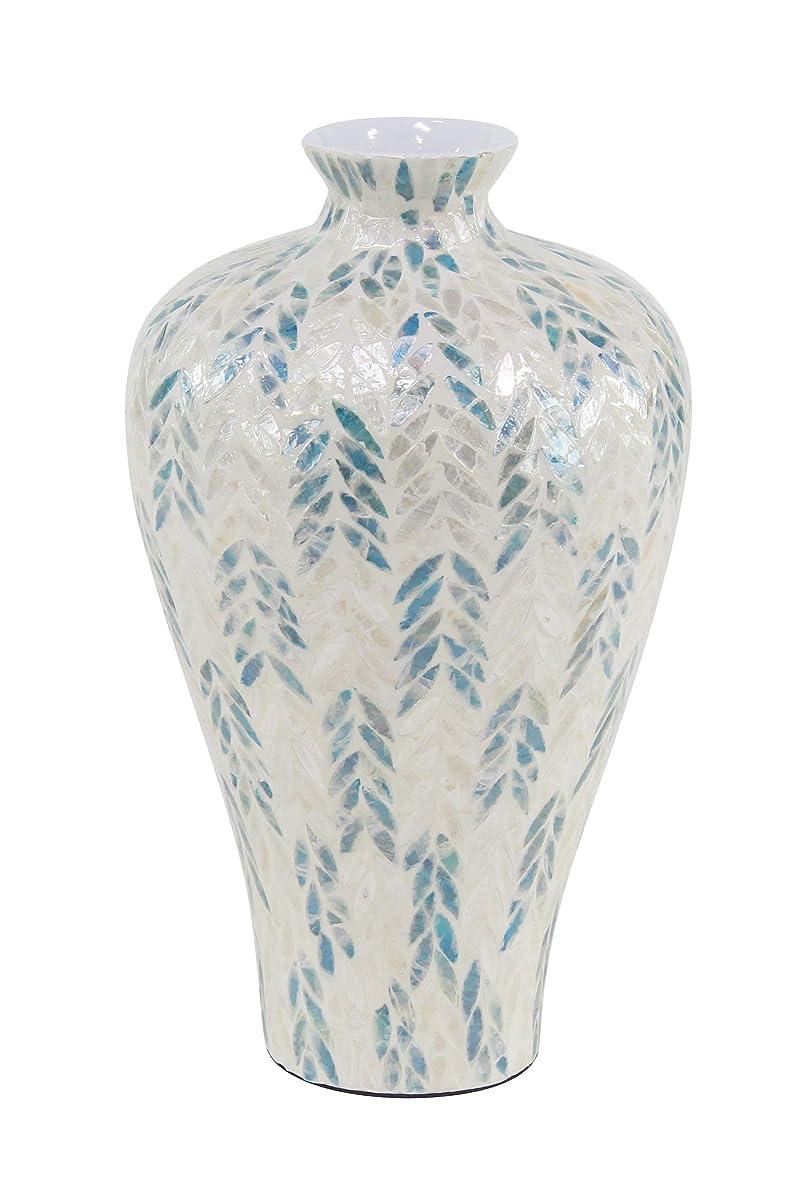 Deco 79 Decorative Vases, Large, White, Black