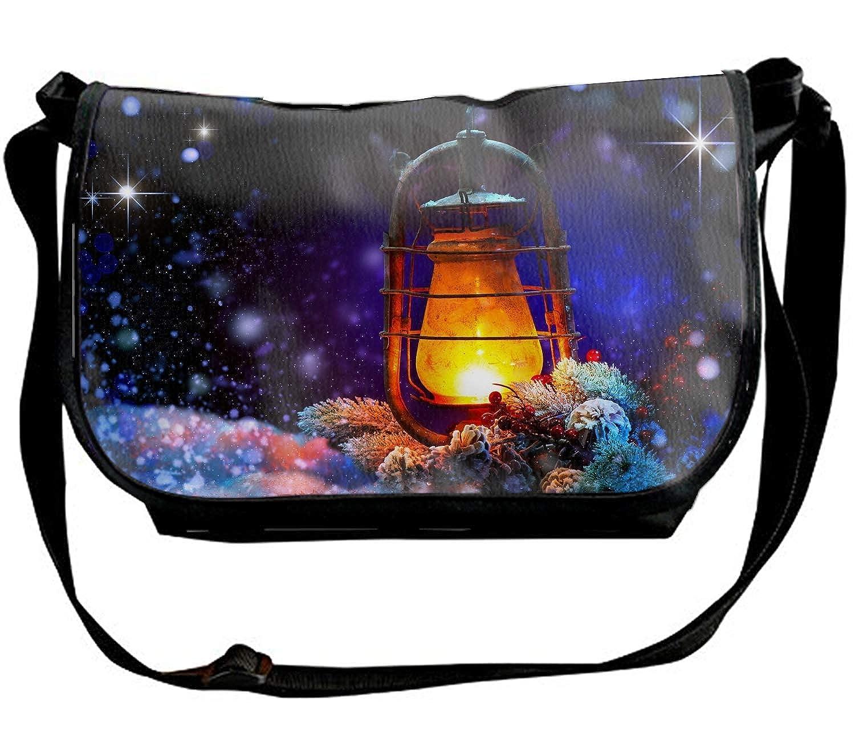Multifunction Shoulder Bag Christmas Cocker Spaniel Printed Crossbody Bag for Travel//Business//Workout