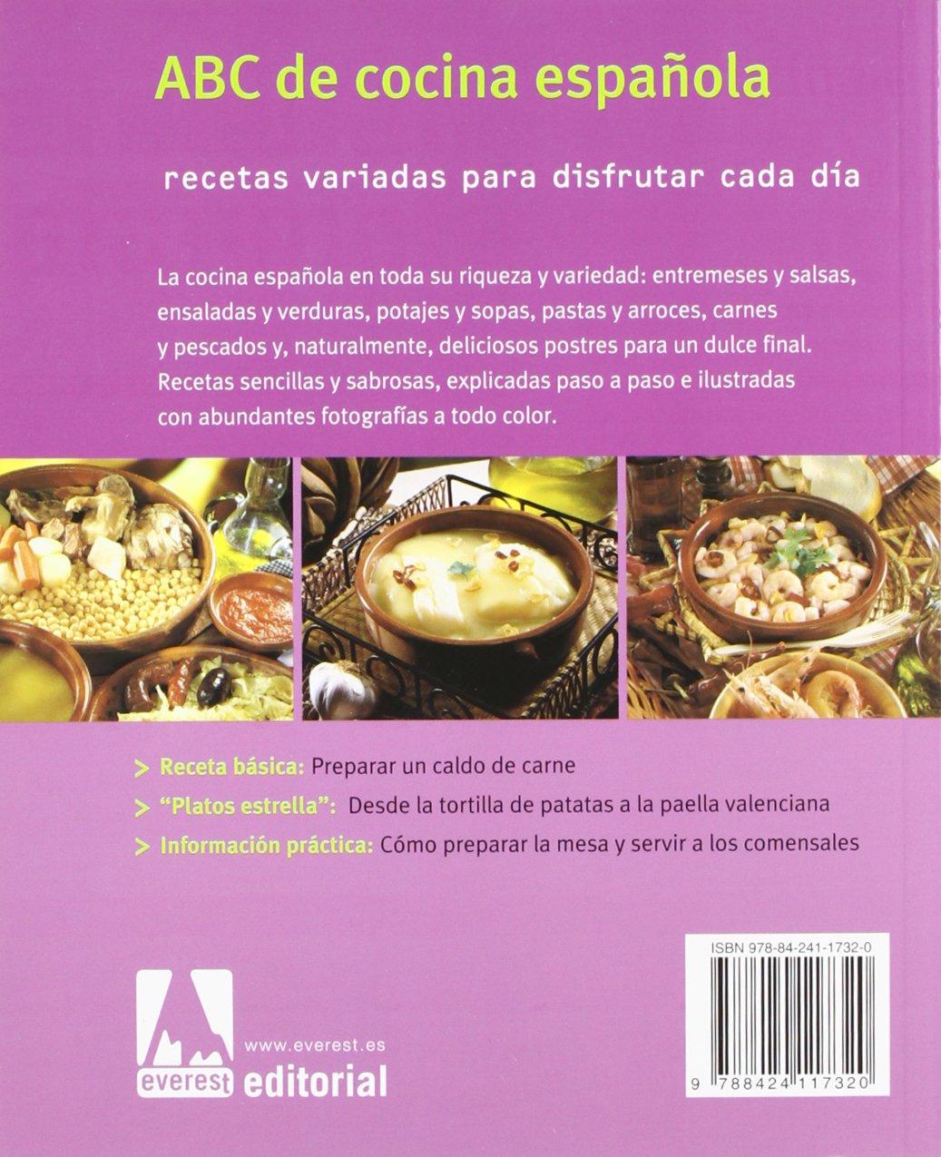 Abc De Cocina Espanola/ Abcs of the Spanish Cooking: Recetas Variadas Para Disfrutar Cada Dia (Coleccion Cocina Facil) (Spanish Edition): Not Available: ...