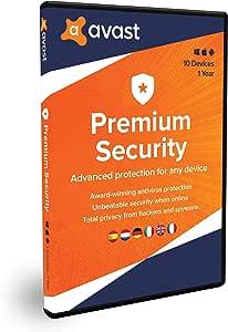 Avast Premium Security 2020   Multidispositivos   10