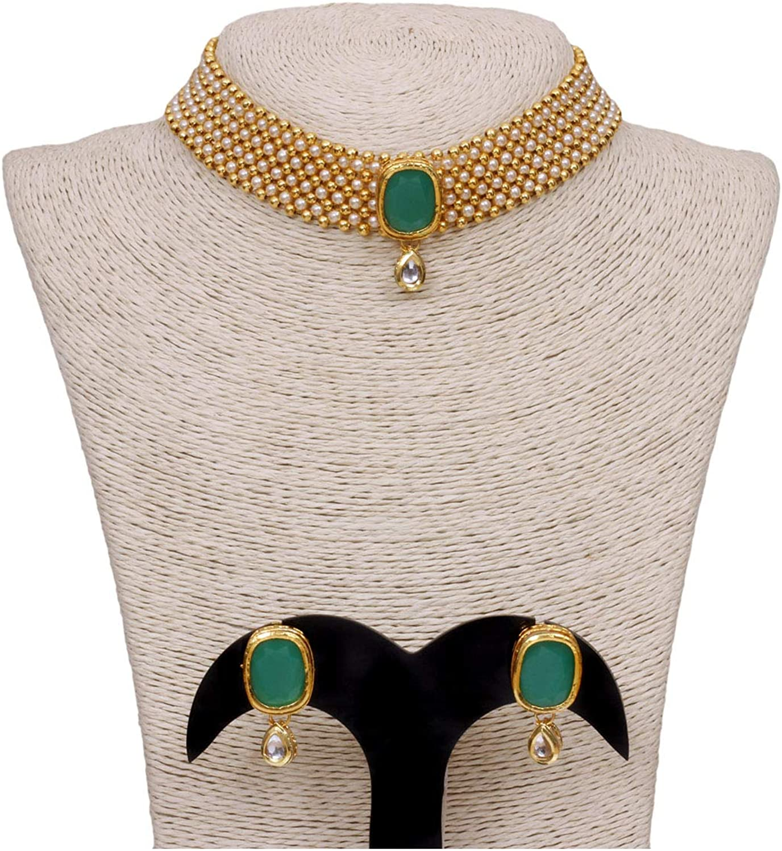 Rose Gold Diamond Choker Necklace with Earring Indian jewelry Crystal Choker Indian Choker Pakistani jewelry Bollywood jewelryWedding