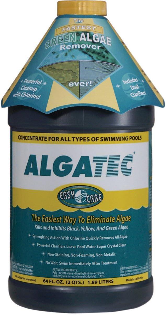 Mcgrayel Algatec 10064 Super Algaecide For Green Yellow And Black Algae 64 Ounce Swimming Pool Algaecides Garden Outdoor