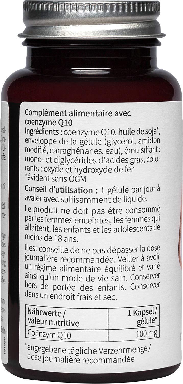 nu3 Premium Coenzimas Q10 - 60 cápsulas de alta dosificación ...