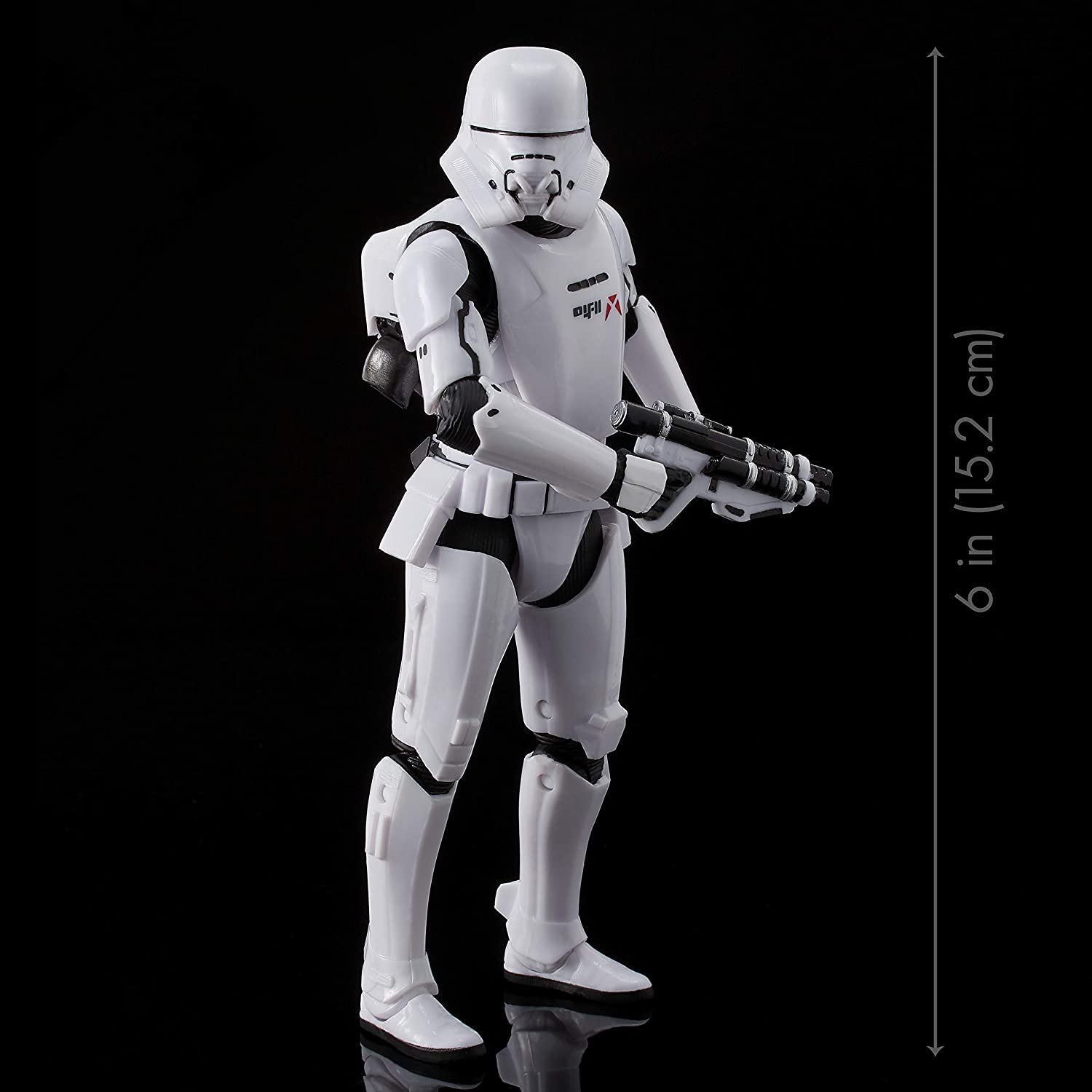 "Star Wars The Black Series First Order Jet Trooper Toy 6"" Scale The Rise of Skywalker Collectible Figure, Kids Ages 4 & Up"