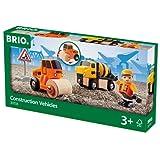 BRIO World 33733 - Baufahrzeuge-Set