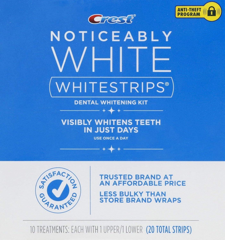 Crest Noticeably White Whitestrips