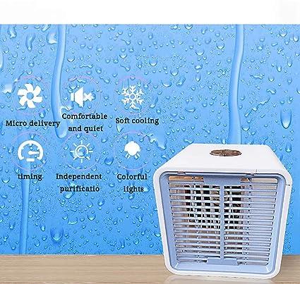 Younthone - Mini Ventilador portátil para Aire Acondicionado con ...