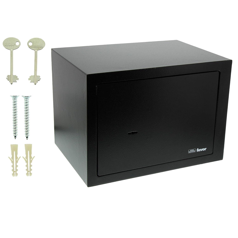 Burg-Wächter FAVOR S5 K Caja Fuerte de Empotrar con Doble Cerradura Negro: Amazon.es: Bricolaje y herramientas