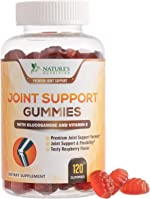 Joint Support Gummies Extra Strength Glucosamine & Vitamin E - Natural