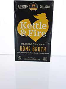 Kettle and Fire - Caldo de hueso de pollo - 16.2 oz.