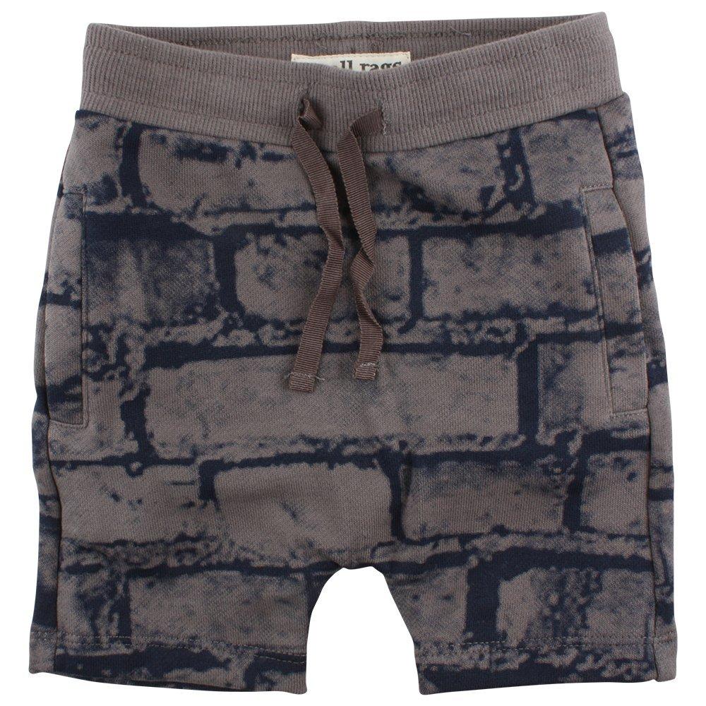 Small Rags Baby Boys' Eddy Shorts Grey (Grey Castle 01-75) 18-24 Months 60478