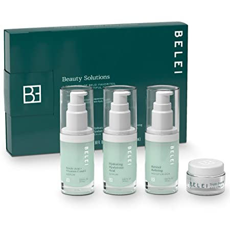 Belei Beauty Solutions Skin Care Set, All Skin Types ($47 Value) by Belei