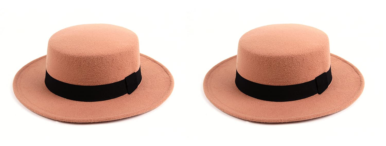 e76c0cf55a8 Women s Felt Cordorbes Hat 518HF (2 pcs Beige   Beige) at Amazon Women s  Clothing store