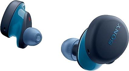 Sony WF-XB700 - Auriculares inalámbricos con micrófono para llamadas telefónicas, tecnología Bluetooth, color azul: Amazon.es: Electrónica