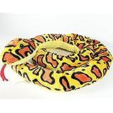 Plüschtier Schlange - gelb - 250 cm