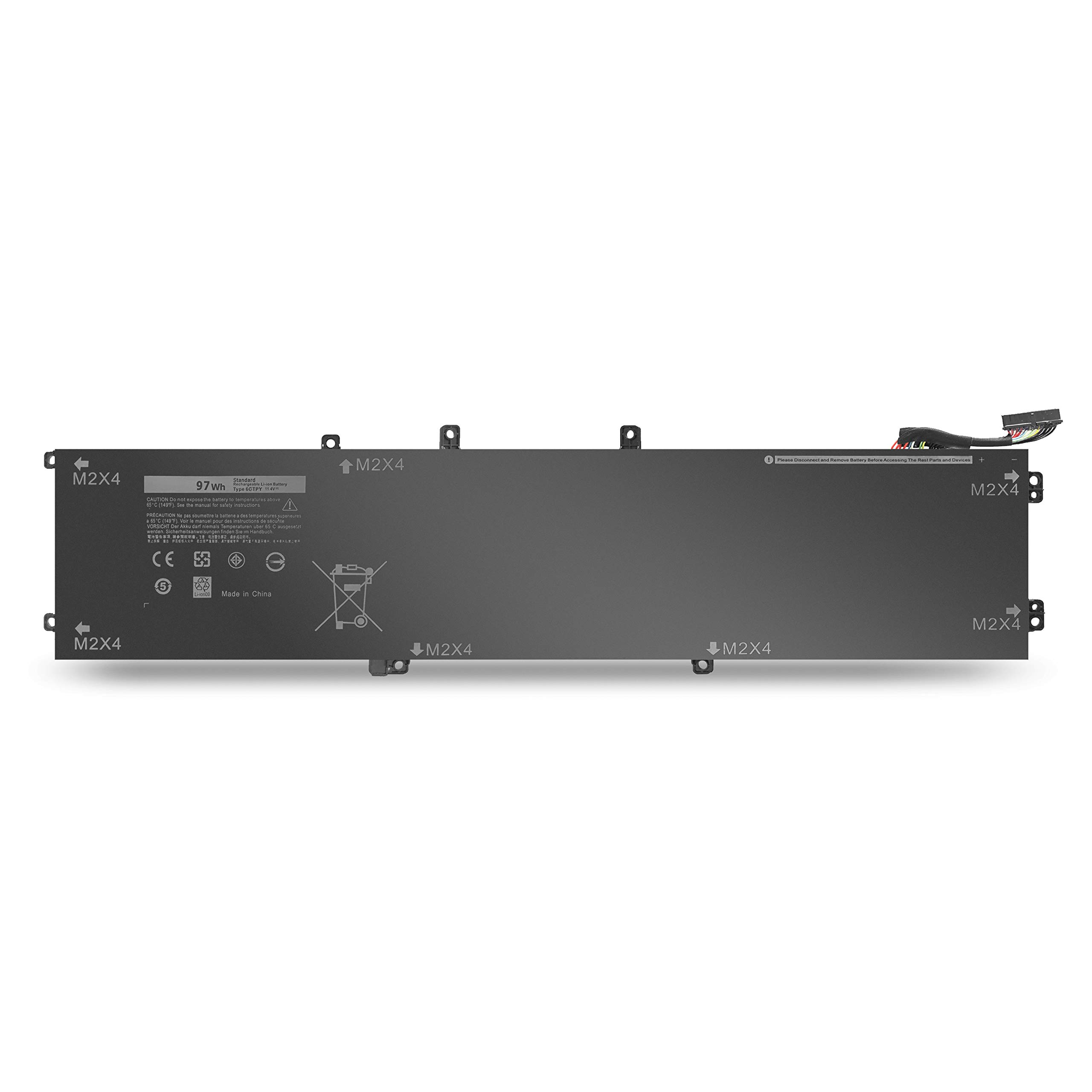97Wh 6GTPY Battery for Dell XPS 15 9550 9560 9570 Precision 5510 5520 M5510 M5520 Laptop