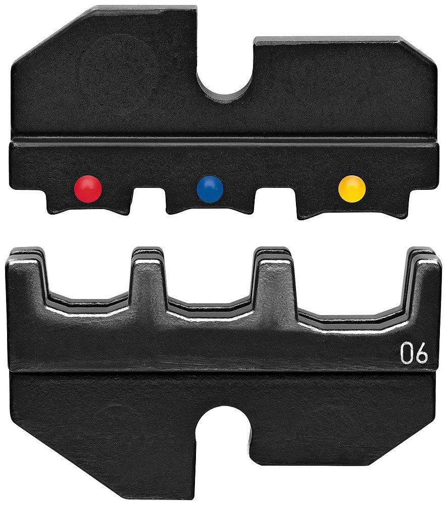 KNIPEX 97 49 06 Mordaza intercambiable para terminales aislados anulares para tornillos