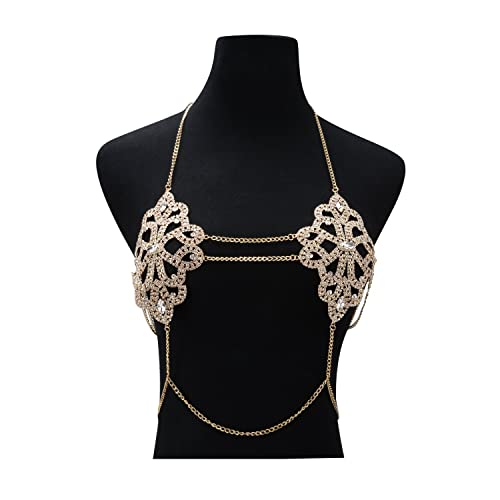 91fb47a60f705 Amazon.com  Holylove 2 Color Sexy Body Chain Bikini Bottom Underwear Jewelry  for Women Hot Summer Day Beach Vacation Pool Party Clubwear Fashion with  Gift ...