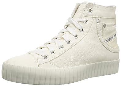 407c6e2bc0 Amazon.com: Diesel Women's Magnete S-Exposure Cmc W-Sneaker Mid: Shoes