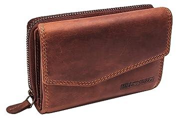 Damen Designer Echtes Weiches Echtleder Portemonnaie Kreditkartenhalter