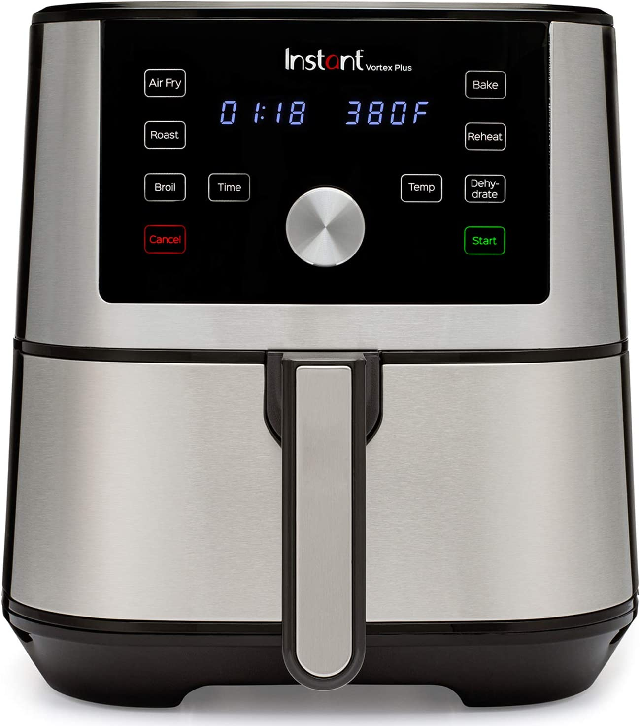 Amazon Com Instant Vortex Plus 6 In 1 Air Fryer 6 Quart 6 One