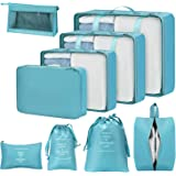 Storage Bag Organizers, Foldable Blanket Storage Organizers with Breathable Mesh Window, Sturdy Zippers, Durable Handles…